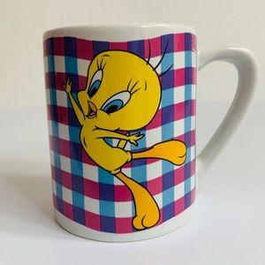 Vintage Tweety Bird WB Looney Tunes Coffee Mug